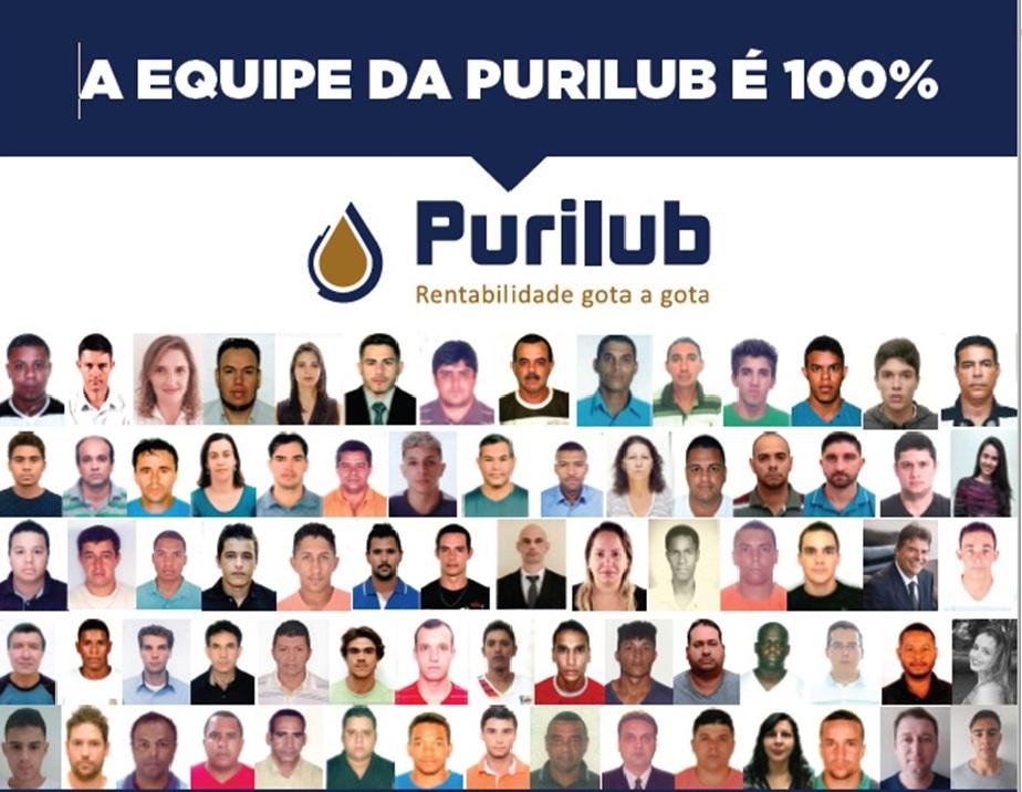 PURILUB equipe 100%