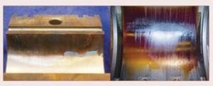 Remoção de verniz de mancais de turbinas a gás ou a vapor